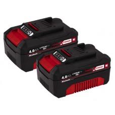 Einhell PXC-Twinpack 4,0 Ah  Akkumulátor készlet  Ár: 35.900.-