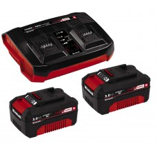 Einhell 2x3,0 Ah & Twincharger Kit   Akku+töltő szett   Ár: 52.240.-