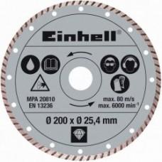 EINHELL Gyémánt vágókorong 200 mm  Ár: 7.200.-